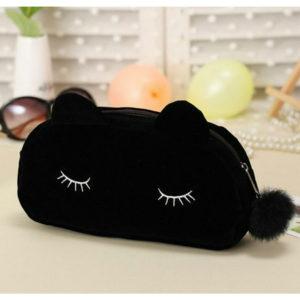 黒猫 かわいいポーチ