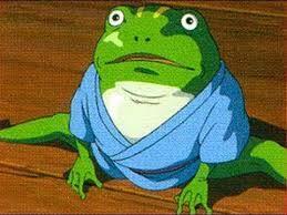 青蛙 千と千尋