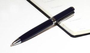 オックスフォードブランドのボールペン