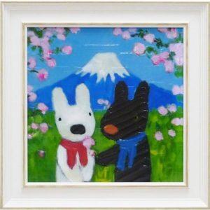 リサとガスパールのアート