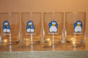 パピプペンギンズのグラス