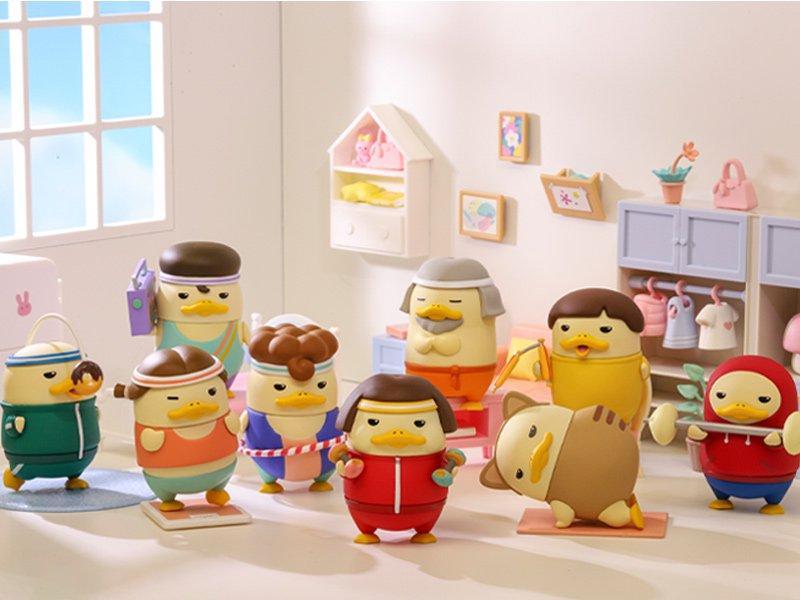 POPMART DUCKOO(ダックー) ホームトレーニングシリーズ
