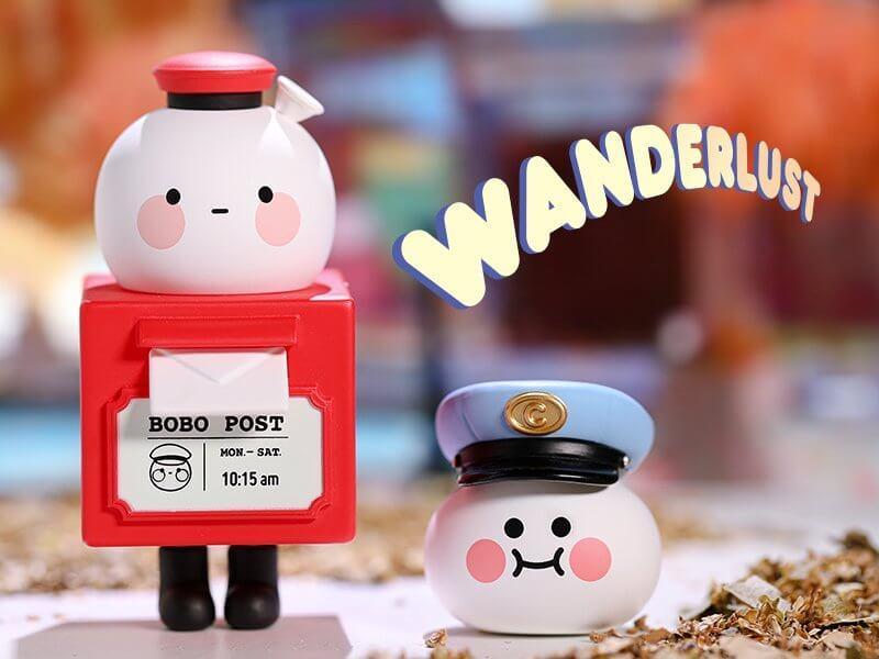 POPMART BOBO & COCO(ボボ&ココ) トラベルシリーズ