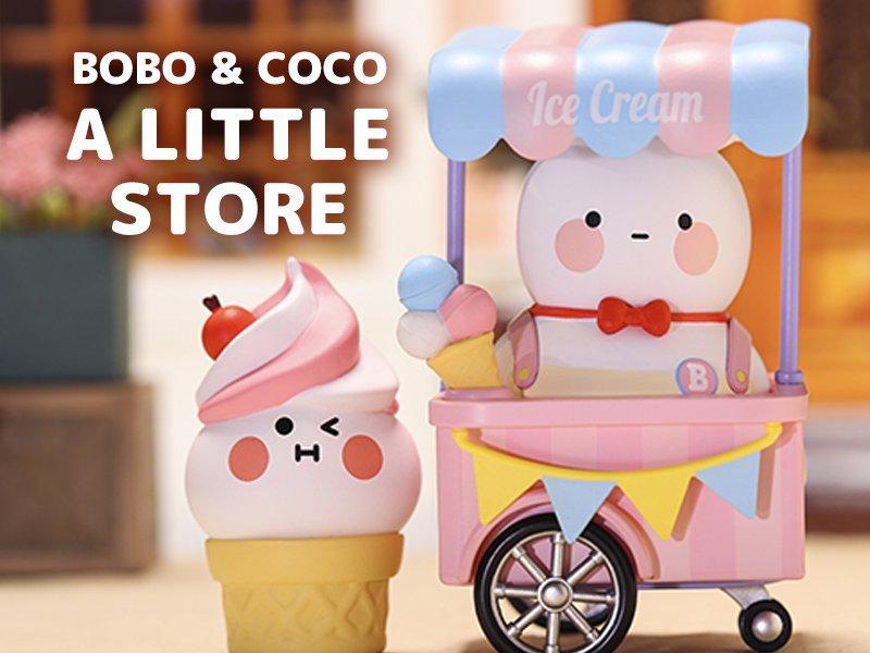 POPMART BOBO & COCO(ボボ&ココ)リトルストア シリーズ