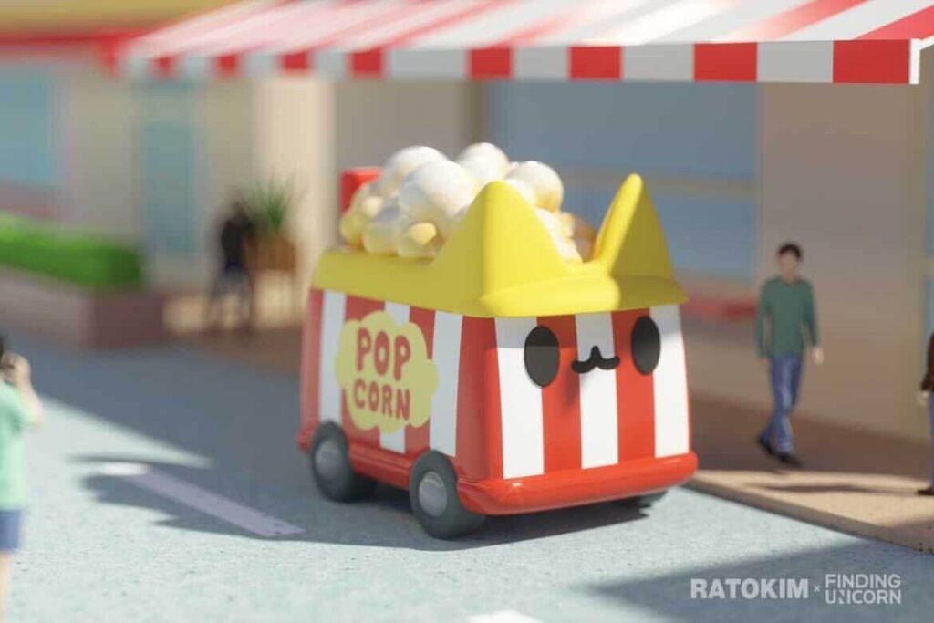F.UN x RATOKIM BOXCAT (ボックスキャット) Transportation シリーズ