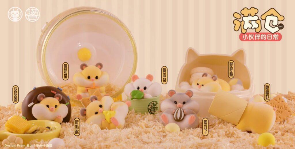 RIBOSE 満倉とお友達の日常 トレーディングフィギュア
